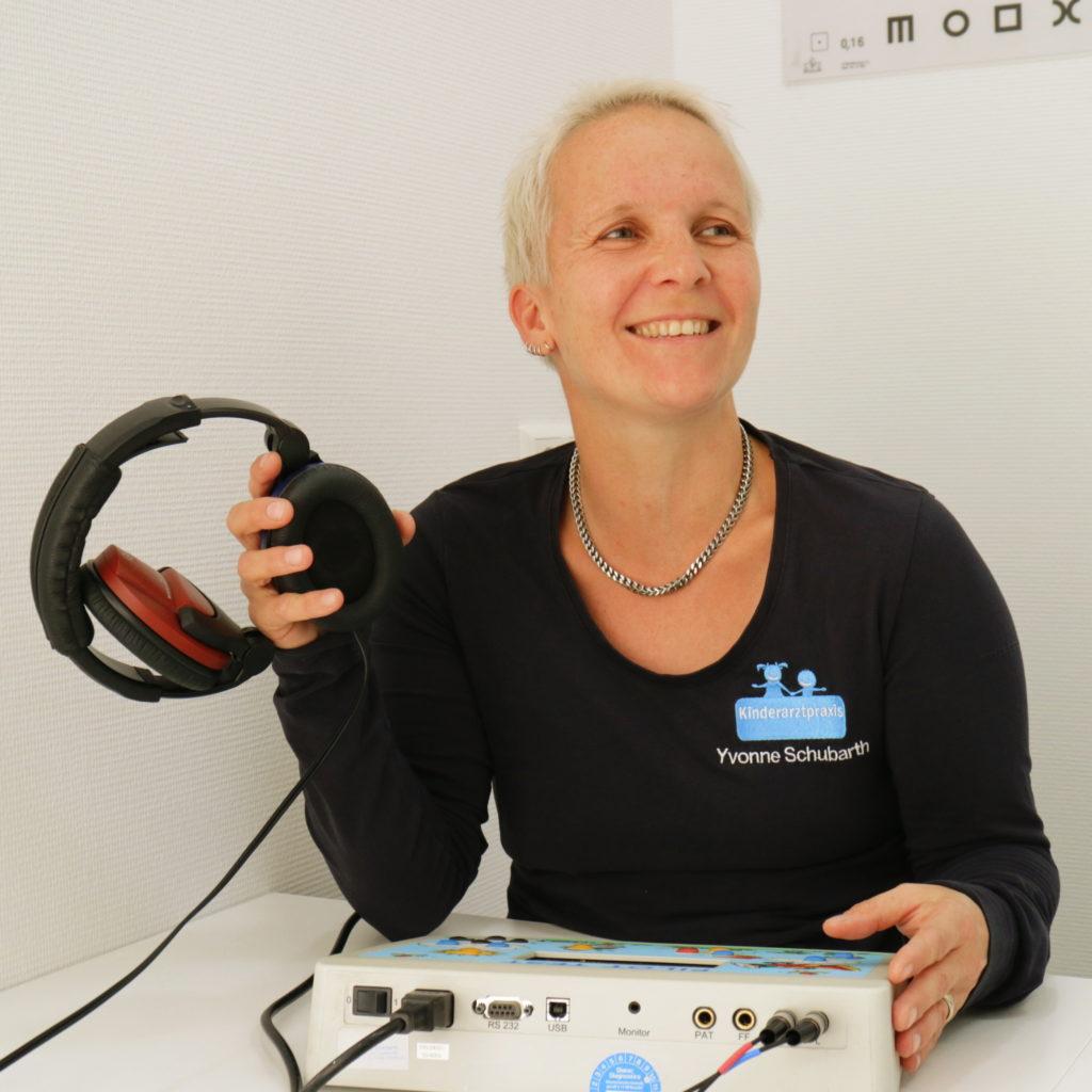 Yvonne Schubarth (Kinderkrankenschwester)